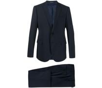 Zweiteiliger Anzug mit schmalem Schnitt