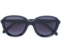 - chunky bug-eye sunglasses - unisex - Acetat - 51