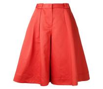 Cropped-Hose mit weitem Bein - women