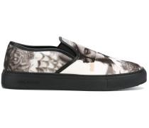 Slip-On-Sneakers mit Foto-Print