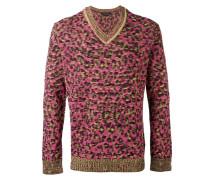 Sweatshirt mit Leopardenmuster - men