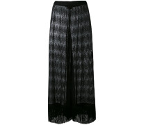 sheer cover-up trousers - women - Viskose - 38