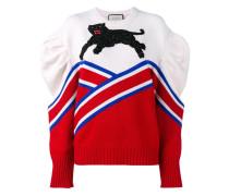 oversized embroidered jumper