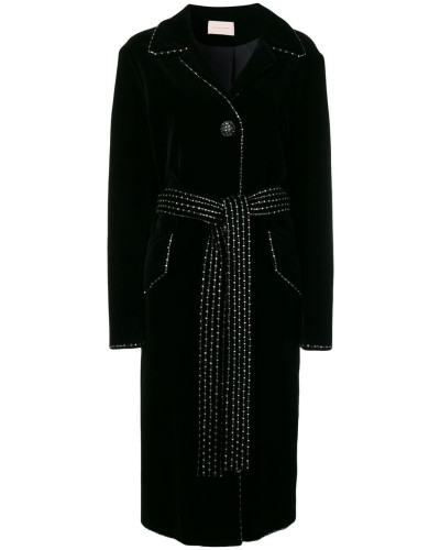 Mantel aus Samt