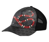 Baseballkappe mit Schlangenmotiv