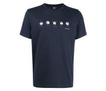 T-Shirt mit Würfel-Motiv - men - Organische