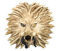 x Harumi Klossowska de Rola Brosche im Löwendesign
