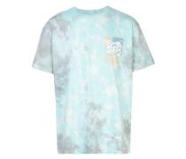 'Tumble' T-Shirt mit Batik-Print