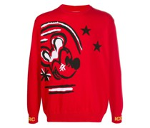 Pullover mit Micky Maus-Print