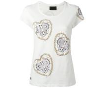 T-Shirt mit Ketten-Print - women - Baumwolle - L