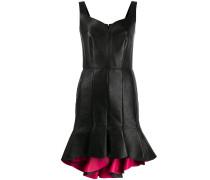 Kleid mit Volant-Saum