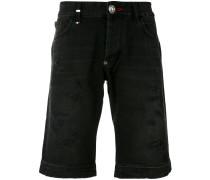 - frayed edge shorts - men - Baumwolle/Polyester