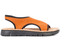 Sandalen mit Slingback-Riemen - women