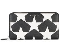 Portemonnaie mit Sterne-Print