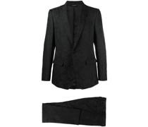 Zweiteiliger Martini-Fit-Anzug aus Jacquard