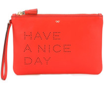 'Have A Nice Day' Clutch