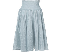 woven spotted skirt