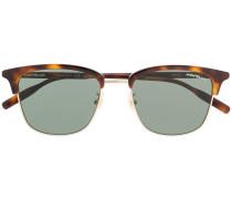 Sonnenbrille mit Schildpattdetail