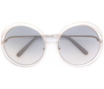 'Carlina' Sonnenbrille mit Oversized-Gläsern