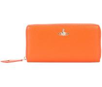 'Balmoral' zip wallet - women - Leder