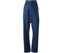 Jeans mit hohem Bund