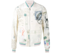 'Letters from India' Bomberjacke