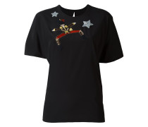 embroidered toy soldier T-shirt