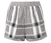 'Keffiyeh' Shorts