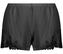 Shorts mit Stickerei