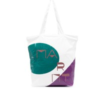 Handtasche mit geometrischem Print
