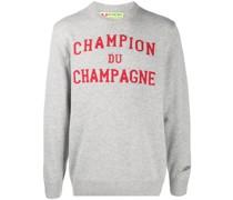 'Champion du Champagne' Intarsien-Pullover