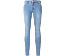 Skinny-Jeans in Washed-Optik