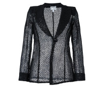 sequined lace blazer