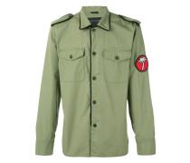 Military-Jacke mit Patch - men - Baumwolle - 50