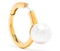 Ohrring mit Perlen