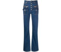 Fashion Show Jeans mit Knöpfen