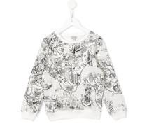 "Sweatshirt mit ""New York City""-Print"