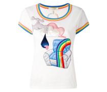 T-Shirt mit 'Julie Verhoeven'-Patch