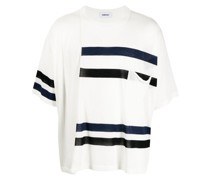 T-Shirt mit Streifendetails