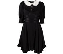 Kleid mit Bubikragen