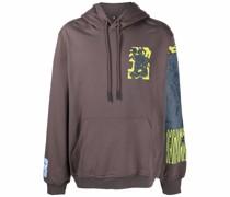 graphic-print hoodie