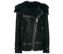 'Marsh' Shearling-Jacke