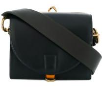 Mini Handtasche mit Kontrasthenkel