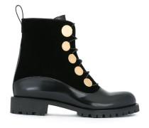 Stiefel mit Nieten - women - Leder/Samt/rubber