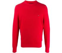 Pullover mit Logo-Patch