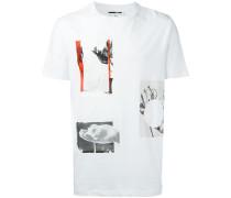T-Shirt mit Collagen-Print - men - Baumwolle