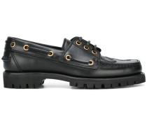 Loafer mit eingeprägter Schlange