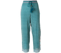 flared casual trousers