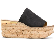 Camille wedge mules