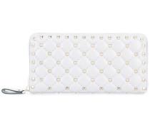 large studded wallet